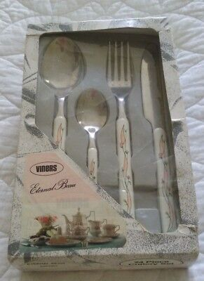 Johnson Brothers Eternal Beau 24 piece Cutlery Set by Viners
