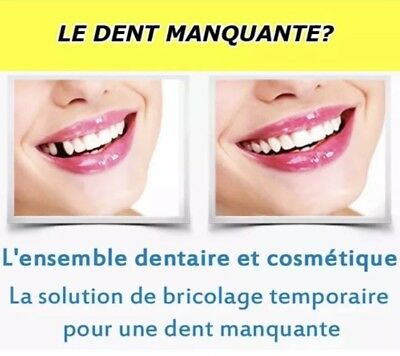 Quick Dental Tooth™  Missing Kit de remplacement de fausse dents provisoire ®