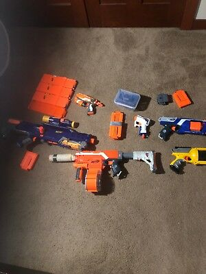 Nerf gun lot. mostly used