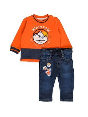 LOSAN COMPLETINO JEANS+T-SHIRT INFANT BOYS MainApps