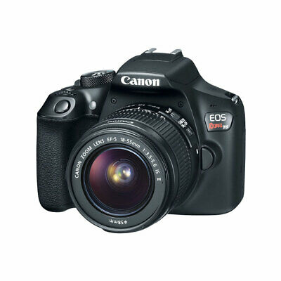 Canon EOS Rebel T6 Digital SLR Camera With 18-55mm EF-S f/3.5-5.6 IS STM Lens