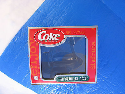 BOX ONLY! Coca-Cola 2001 platinum series ornament BOX FREE SHIPPING