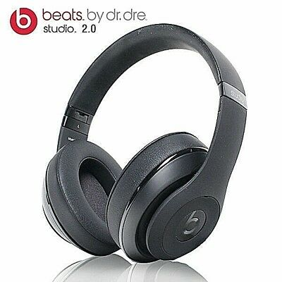 Beats Dr. Dre Studio 2.0 Wireless Over the Ear Headphones Wireless Matte Black