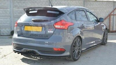 Facelift Ford Focus 3 Piece MK3 Tail Set Diffuser Rear Apron MK3, 5