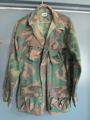 RARE Vietnam War USMC Marines CAMO Wind Resistant COAT!,1969 dated.