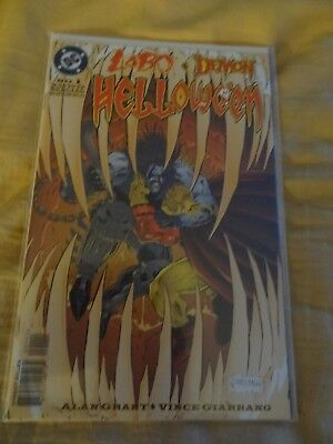 Lobo Demon Helloween #1 1996 special one shot Halloween Horror NM