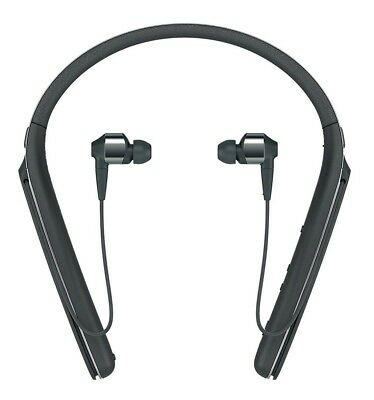 Sony Premium Noise Cancelling Wireless Neck In Ear Headphones - Black (WI1000X)