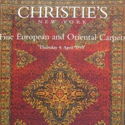 Christies Auction Catalog 1999 New York 9148 European and Oriental Carpets