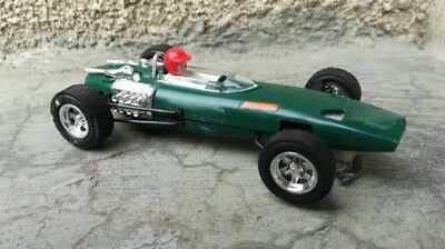 Scalextric C37 BRM in green, made in spain, lovely example