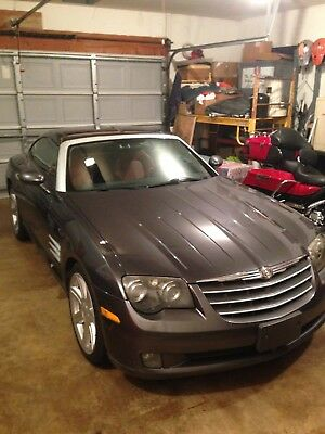2004 Chrysler Crossfire Limited 2004 6 speed manual Crossfire Limited