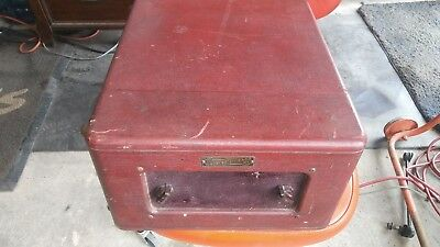 Antique Webster Chicago Portable Phonograph Model 161-1 Made In Usa