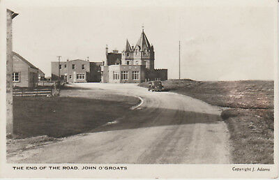 Scotland - John O' Groats - End Of The Road  -   Postcard # 8051