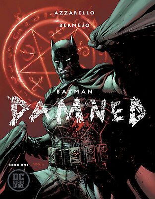 Batman Damned #1 First Printing Jim Lee Variant Cover - Uncensored