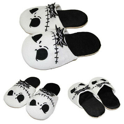 The Nightmare Before Christmas Jack Skellington Slipper Adult Unisex Plush shoes