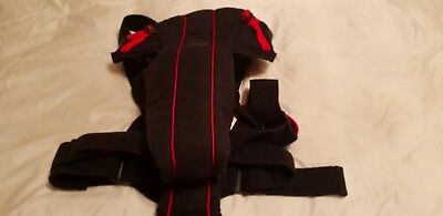BabyBjörn Baby Carrier Original black and red Cotton