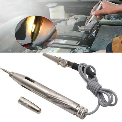 DC 6-24V Auto Car Light Circuit Tester Lamp Voltage Test Pen Detector Probe New
