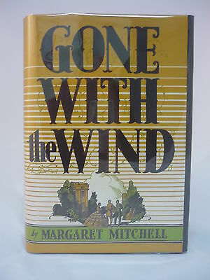 Gone With the Wind Margaret Mitchell 1st Edition Early Printing December 1936