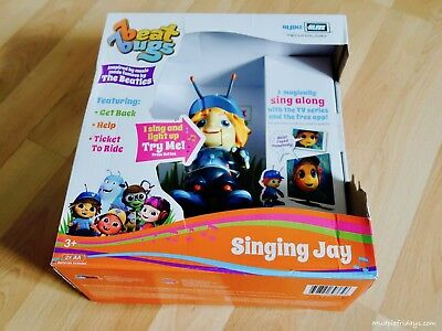 Beat Bugs Figures Jay sing along Action Figure -  Brand new in box.