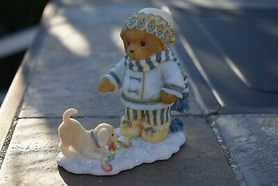 "Cherished Teddies Brinley ""The Happiest Holidays Are Spent With You"" 4005875"