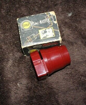 vintage Guild mini Master lens for slides with box