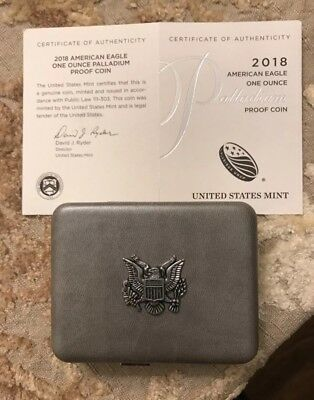 American Eagle 2018 One Ounce Palladium Proof Coin IN HAND! Sold Out at US Mint!