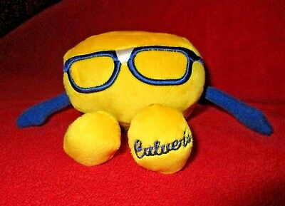 RARE Promo Culver's CURDIS Cheese Curd Animal Plush Figure NEW Culvers Curtis