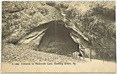 Antique UDB - Entrance to Mammoth Cave, Bowling Green, Kentucky KY