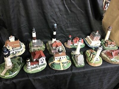 Danbury Mint Lighthouse Collection
