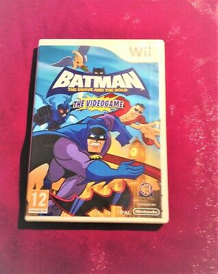 Batman The Brave And The Bold For Nintendo Wii game case only – no manual