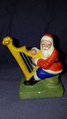 antique 1930's Composition Christmas Santa (RARE)