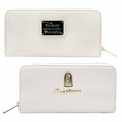 NEW LOUNGEFLY Beauty And The Beast Belle Embossed Character Wallet