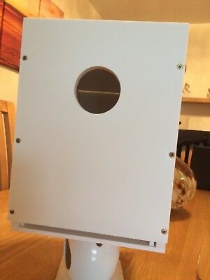 show budgie nest box with inner draw all plastic air flow