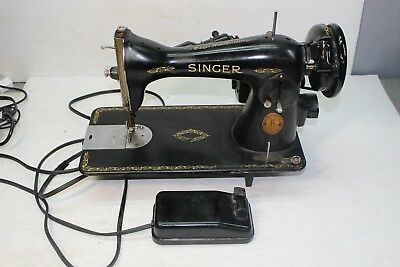Vintage Singer Sewing Machine Serial JC226690 AS IS