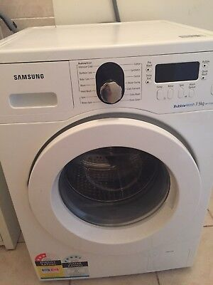 "Samsung ""bubblewash"" Front Loader washing machine"