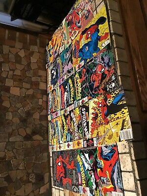 Lot of 17 Spider-Man comics #1 - 17 Complete Run McFarlane series from 1990 up