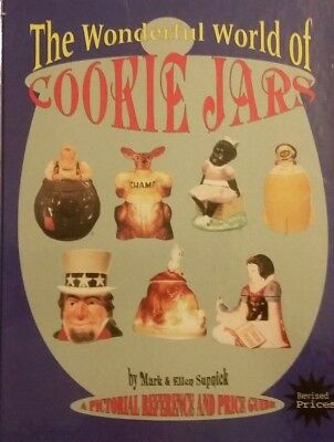 Wonderful World of Cookie Jars VALUE GUIDE COLLECTOR'S BOOK H.B. 448 Pages