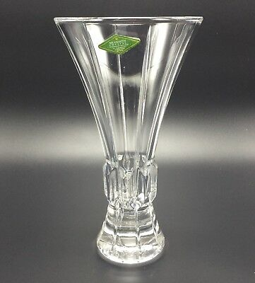 Gorgeous Heavy Crystal Vase Shannon Designs Of Ireland Made In Czech