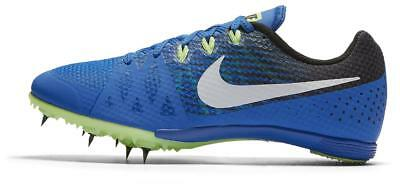 official photos 95630 dd86e New NIKE Zoom Rival MD Hurdle Jump Track Spikes Shoes Blue White Size 12  Mens