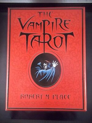 The Vampire Tarot by Robert M Place 2009 1st Edition Complete