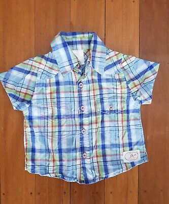 Jack and Milly Baby Boy Shirt - Size 00
