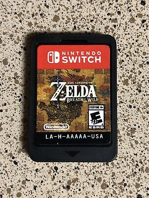 Legend of Zelda: Breath of the Wild Nintendo Switch * GAME ONLY * Free Ship