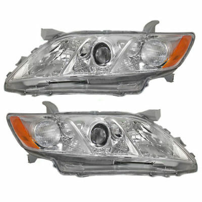 Fit Headlight Head Lamp Right & Left For 2007 2008 2009 Toyota Camry Usa