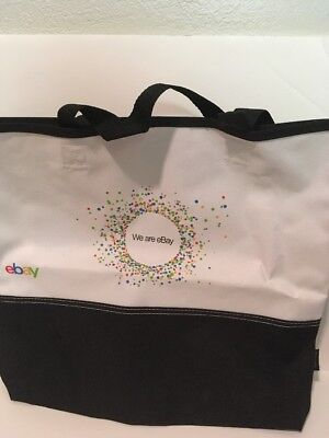 We Are Ebay Canvas Carry Bag