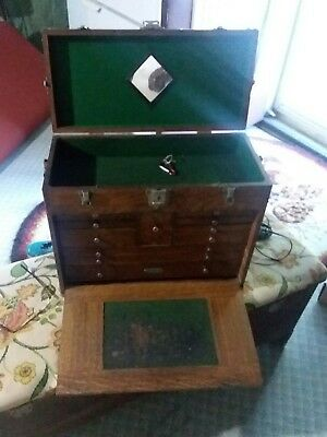 Antique Tool And Die Box