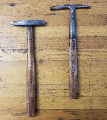 ANTIQUE Tack Saddle Makers Hammers • Vintage Equestrian Upholstery Tools Lot USA