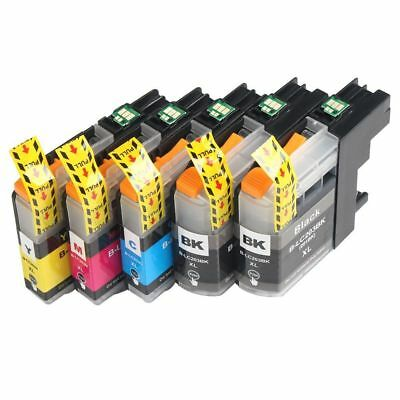 5 Non-Oem Ink Brother Lc-103 Xl Lc101 Mfc-J4610Dw Mfc-J470Dw Mfc-J4710Dw J475Dw
