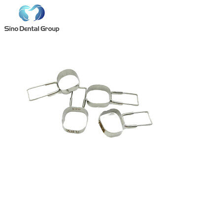 20 X Dental Orthodontic Preformed Space Maintainer Band and Loop 4pcs/Kit
