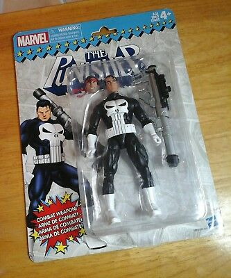 Marvel Legends Punisher Retro Super Heroes Vintage 6-Inch Action Figure W 1