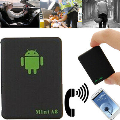 Tracker Global Locator GSM GPRS Security Tracking Device SMS/SOS Mini A8 HOT