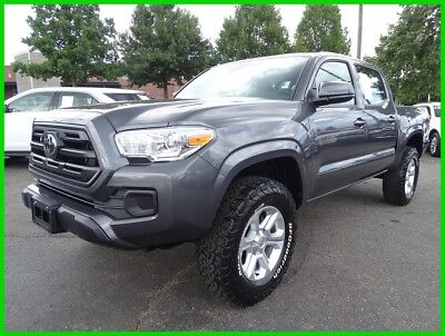 2018 Toyota Tacoma TOYOTA TACOMA GRAY CLOTH TRUCK BLUETOOTH 2018 TOYOTA TACOMA SR DOUBLE CAB ONE OWNER CLEAN CARFAX WE FINANCE & TRADE